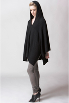 Kai Aakmann Hooded Oversized Poncho