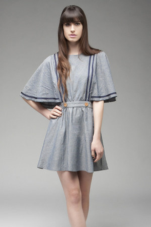 sky blue Dear Creatures dress