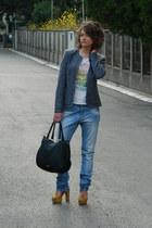 1 maj Pirot blazer - Terranova jeans - Aldo bag