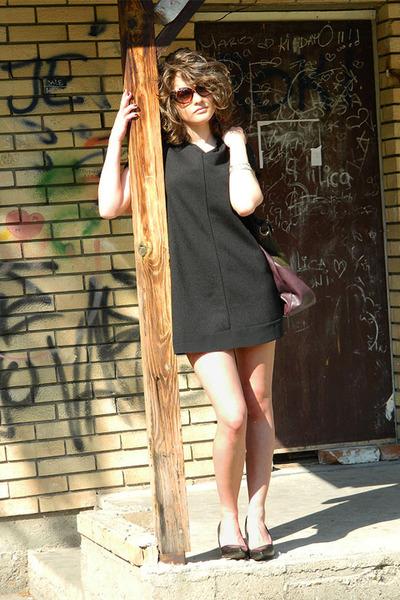 coton heels - Springfield dress - david jones bag - coton glasses
