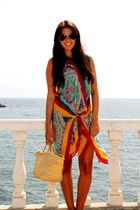 Etro dress - H&M glasses