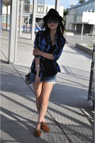 Jeffery Campbell shoes - Urban Outfitters hat - Urban Outfitters shirt