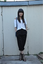 Thrift Store pants - free people shoes