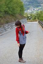 Zara shirt - Zara dress