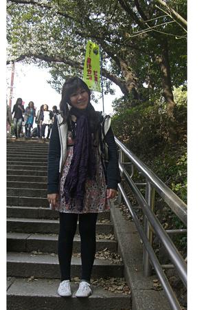 scarf - dress