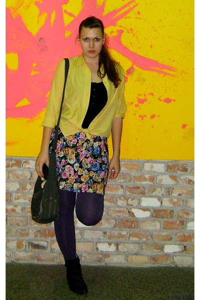 Gate dress - Bershka leggings - c&a shirt