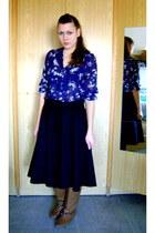 Orsay blouse - deichman boots - H&M shirt