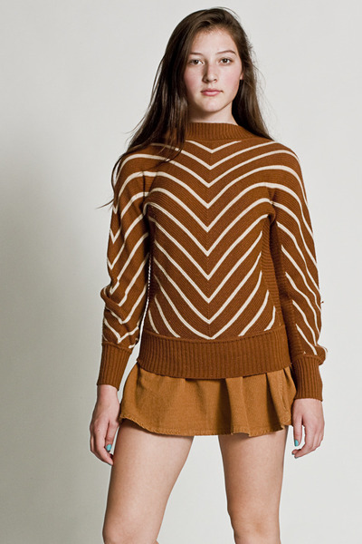 Vintage Chevron Knit Sweater - Chictopia :  vintage sweaters