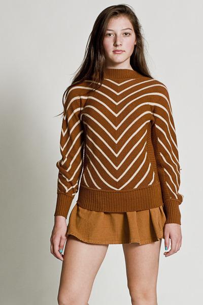 Vintage Chevron Knit Sweater - Chictopia from chictopia.com