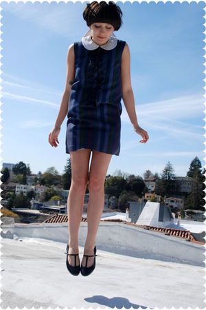 blue dress - black Kimchi Blue from Urban Outfitters shoes