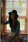 Dark-brown-wool-eddie-bauer-hat-eggshell-lace-volcom-skirt-brown-woven-ameri