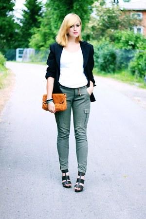 Primark pants - vintage jacket - vintage bag - Primark heels