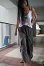 White-zara-top-gray-club-marc-pants-gray-charles-keith-shoes-gold-diva-a