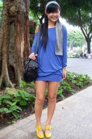 Pull &amp; Bear dress - Schu shoes - f21 accessories