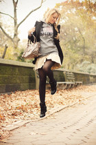 black Zara blazer - light brown balenciaga bag