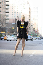 black romwe shirt - black 31 Phillip Lim bag - black H&M skirt