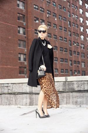 black romwe sweater - dark brown Dee Elle Clothing dress
