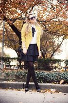 black Chanel bag - light orange She Inside blazer - white Forever21 shirt
