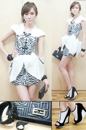 dress - Fendi shoes - Fendi purse - accessories