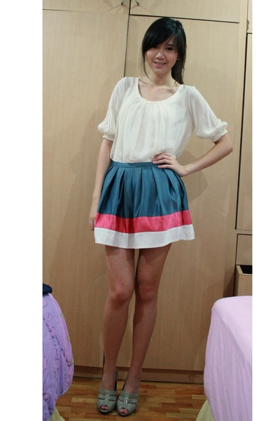 top Marks and Spencer - skirt Topshop - Marks and Spencer