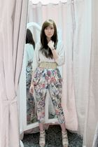Bershka top - Korean shoes - Coexist httpcoexistonlinemultiplycom pants
