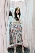Bershka top - Korean shoes - Coexist httpcoexistonlinemultiplycom pants
