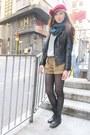 Korea-jacket-topshop-sweater-topshop-shorts-h-m-hat-aldo-boots-prada-b