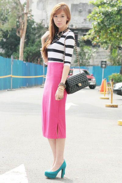 Call it Spring pumps - Girls Are Weird ring - fashion avenue skirt