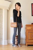 American Apparel - Paige Premium Denim jeans - Steve Madden - Giani Bernini purs