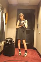 Target dress - Target socks - Marni shoes - cynthia rowley purse