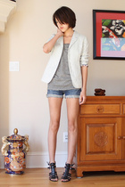 Rogan for Target blazer - Rogan for Target t-shirt - American Eagle - Nine West