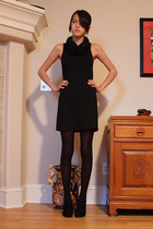 American Apparel dress - Circa Joan & David shoes - Anthropologie coat
