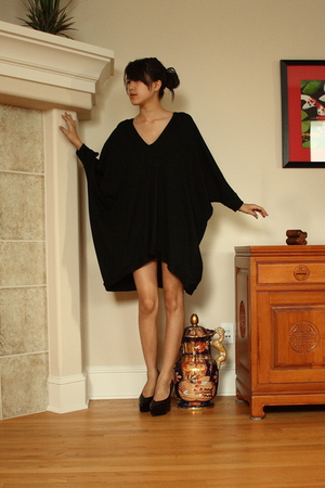 Babooshka Boutique dress - Jil Sander shoes