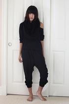 H&M scarf - American Apparel sweater - Zara pants