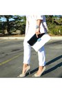 White-old-navy-jeans-light-pink-nasty-gal-blazer-silver-aritzia-shirt