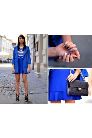 blue Sheinsidecom dress