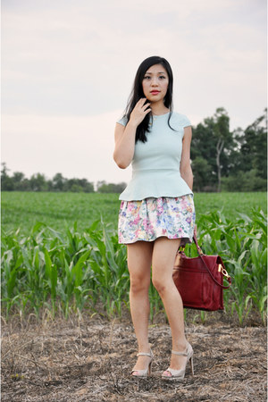 Pietro Alessandro bag - asos skirt - Target pumps - asos top