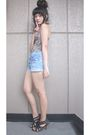 Beige-intimate-blue-shorts-black-mokoyacom-accessories
