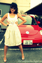 Mango sunglasses - top - from japan skirt - from japan shoes