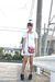 white dress - black Liz Lisa boots - red vintage bag