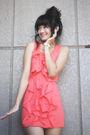 Pink-httpwwwsohautecc-dress-pink-skirt-brown-mango-belt