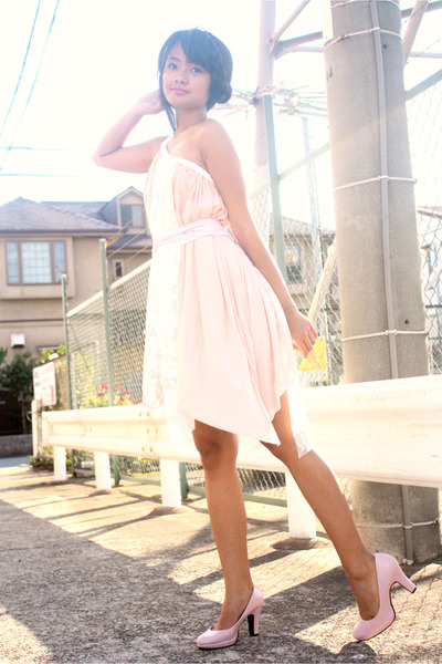 pink Club Couture dress - pink shoes