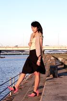 accessories - vest - blouse - Jill Stuart skirt - Cinema Club shoes - accessorie