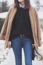 Denim-skinny-h-m-jeans-black-knit-michael-kors-sweater