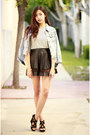 White-ara-feel-shirt-light-blue-others-follow-jacket