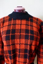 crop top plaid YOU SAY by nuggets sweater