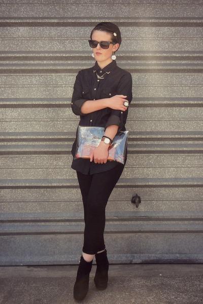 Glassons shirt - Witchery pants