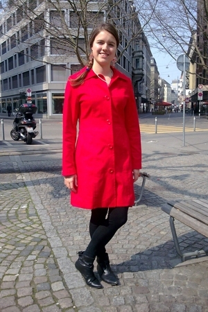 H&M coat - Soho leggings