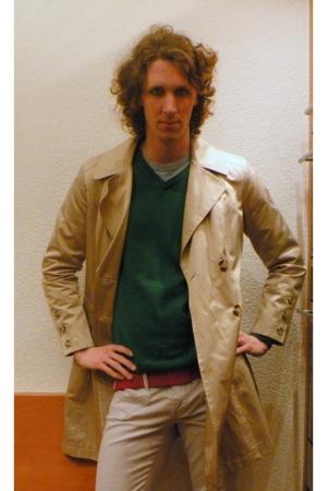 Zara coat - H&M sweater - Only pants