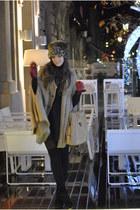 Zara shoes - Zara bag - Zara hat - Zara coat - BLANCO skirt
